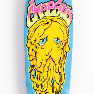 Hand painted skateboards