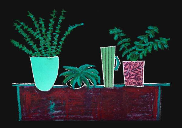 artist led gallery prints, Nina Mankin