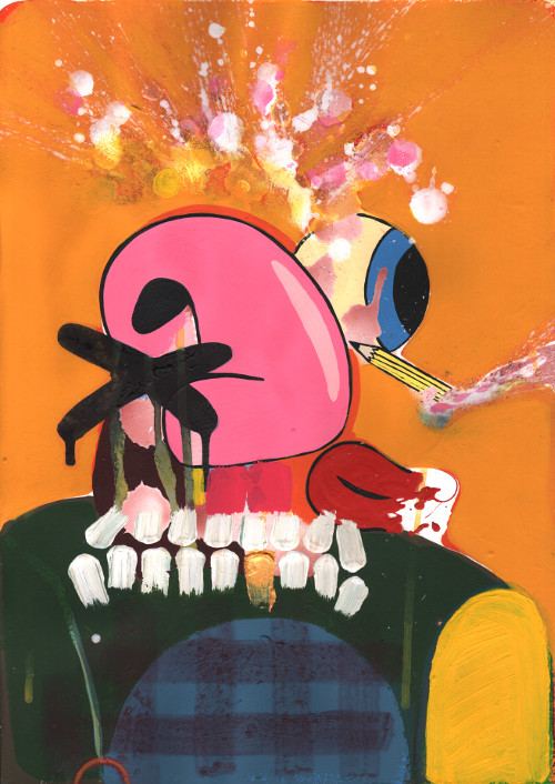 Weird art prints UK by Duncan McAfee