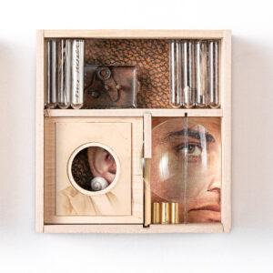 Miniature unique wooden sculptures