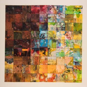 Quilt a collage by Selwyn Pike