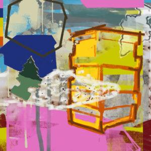 Digital abstract art prints