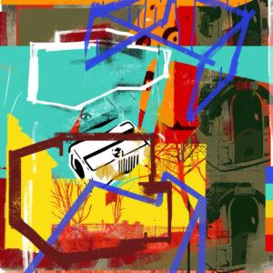 Travel inspired digital art