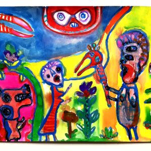 The Grotesque Garden No. 2 Buy online paintings by Shaun Caton