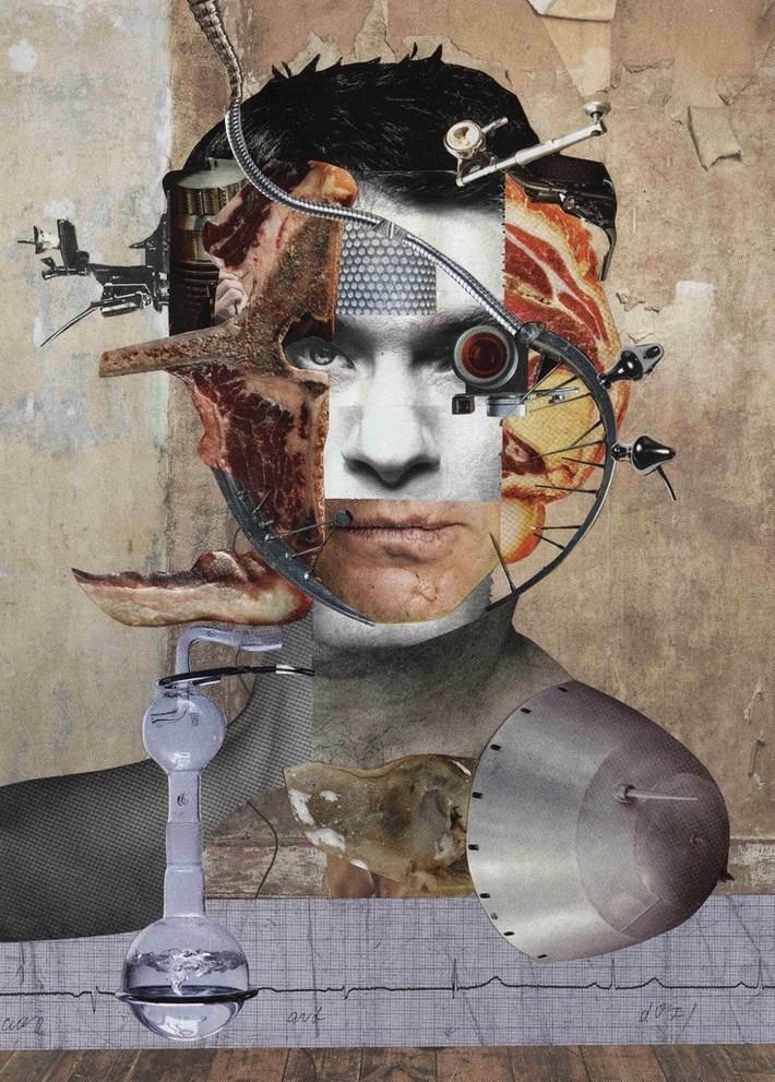 a collage by Irina Sevostyanova