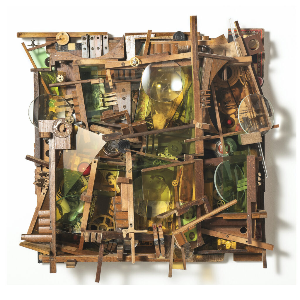 An assemblage by Lesley Hilling