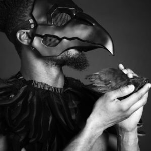 Ajamu limited edition prints. The Healer of Crows