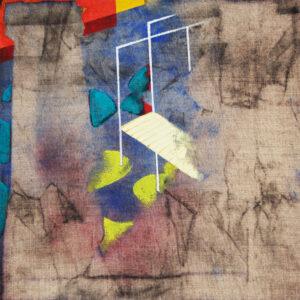 Ittirawee Chotirawee abstract paintings