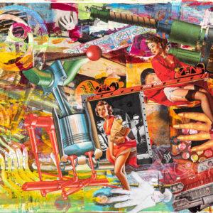 Selwyn Pike Bright coloured art prints