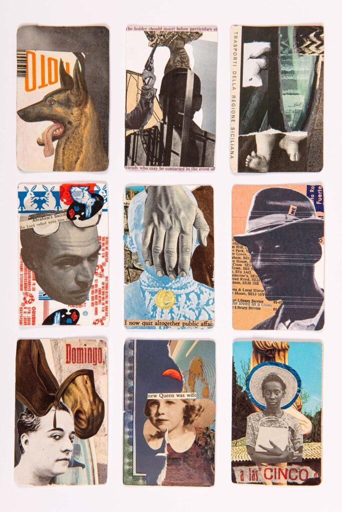 Nine ID Cards Nel Burke